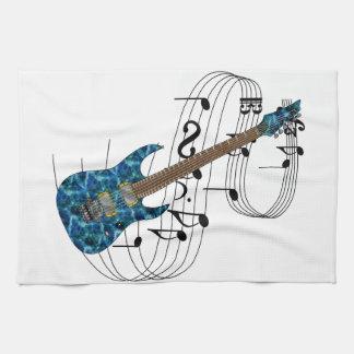 Electric Guitar Hand Towel