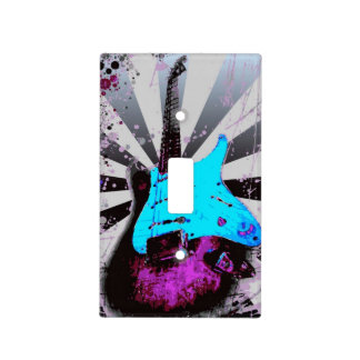Electric Guitar Light Switch Cover