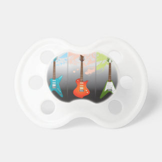 Electric Guitar Lovers Dream BooginHead Pacifier