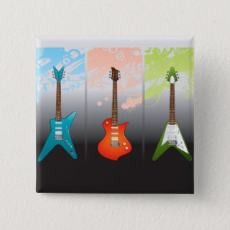 Electric Guitar Lovers Dream Button