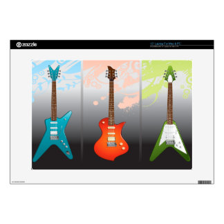 """Electric Guitar Lovers Dream Decal For 15"""" Laptop"""