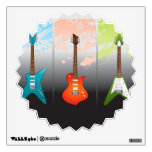 Electric Guitar Lovers Dream Room Graphic