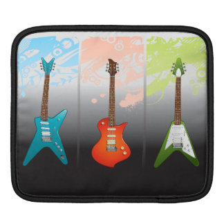 Electric Guitar Lovers Dream Sleeve For iPads