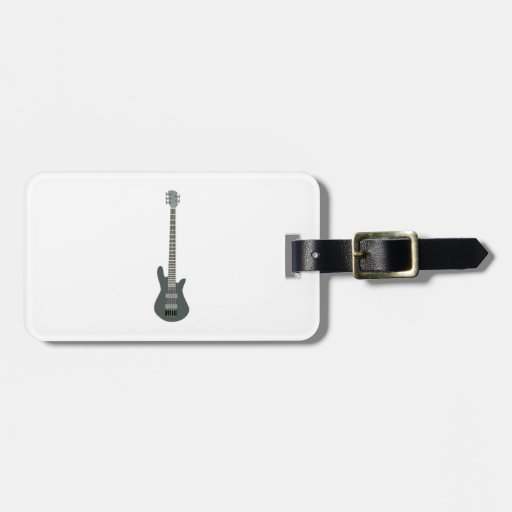 Electric Guitar Luggage Tags