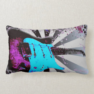 Electric Guitar Lumbar Pillow