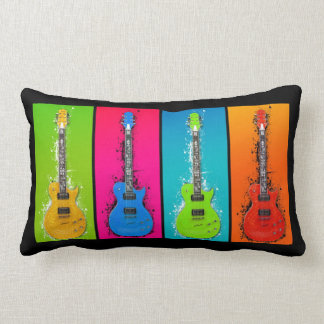 Electric Guitar Lumbar Pillow