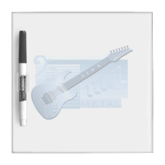 electric guitar metal blue.png dry erase white board