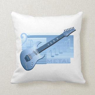 electric guitar metal blue.png throw pillow