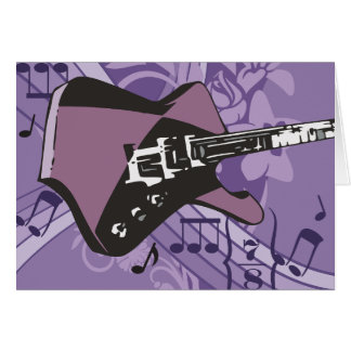 Electric Guitar Note Cards