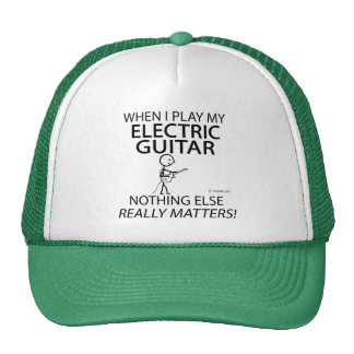 Electric Guitar Nothing Else Matters Trucker Hat