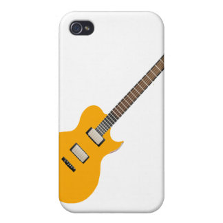 electric guitar orange.png iPhone 4 case