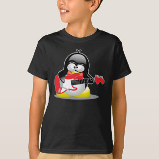 Electric Guitar Penguin T-Shirt