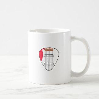 Electric Guitar Pick Coffee Mug