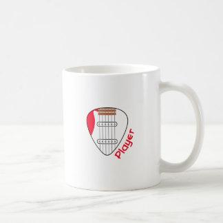 Electric Guitar Player Coffee Mug