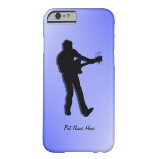 Electric Guitar Player Personalized Barely There iPhone 6 Case