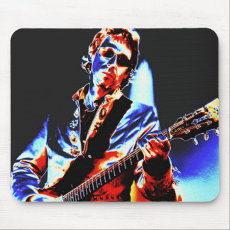 Electric Guitar Poster Art Mouse Pad