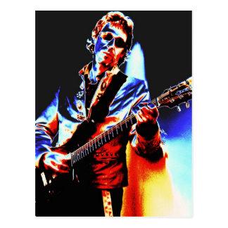 Electric Guitar Poster Art Postcard