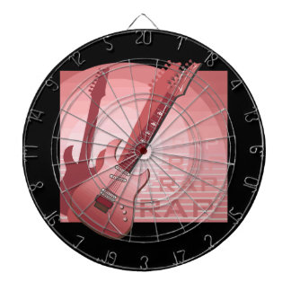 electric guitar rap word music red.png dartboard with darts