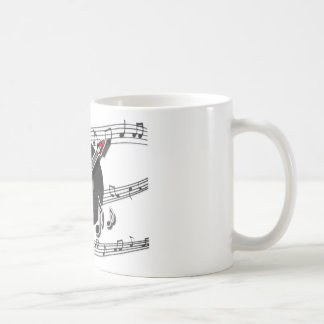 Electric Guitar Rock & Roll Notes Music Cool Coffee Mug