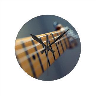Electric Guitar Round Clock
