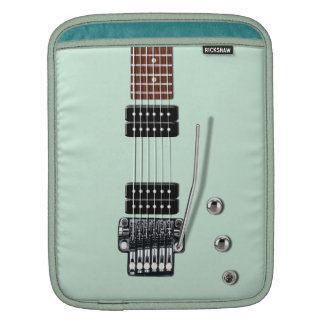 Electric Guitar Seafoam iPad Sleeves
