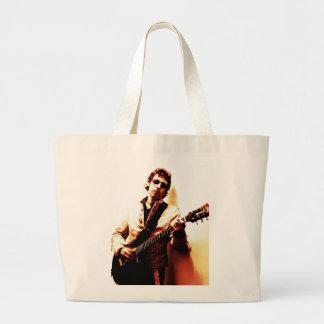 Electric Guitar Sepia Jumbo Tote Bag