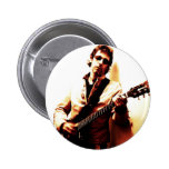 Electric Guitar Sepia Pinback Buttons