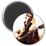 Electric Guitar Sepia Refrigerator Magnets