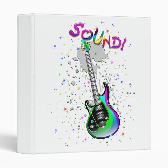 Electric Guitar Sound Colors Binder