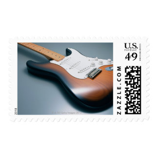 Electric Guitar Stamp