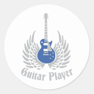 Electric guitar stickers