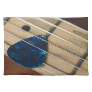 Electric Guitar Strings Cloth Placemat