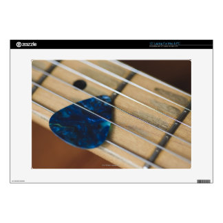 """Electric Guitar Strings Decals For 15"""" Laptops"""