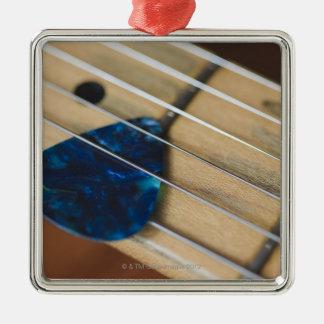Electric Guitar Strings Metal Ornament