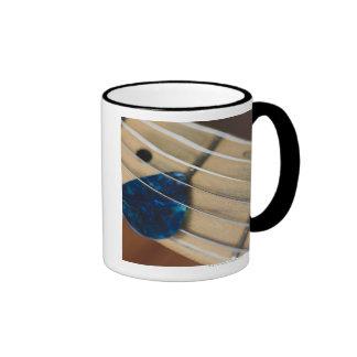 Electric Guitar Strings Ringer Mug