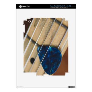 Electric Guitar Strings Skin For iPad 3