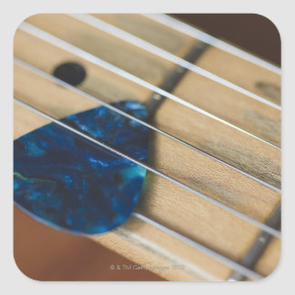Electric Guitar Strings Stickers