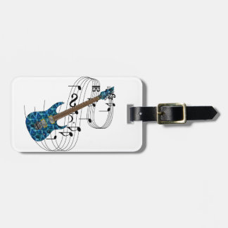 Electric Guitar Tag For Bags