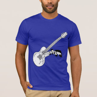 Electric guitar tee shirt