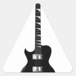 Electric Guitar Triangle Sticker
