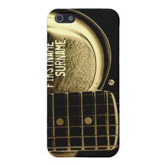 Electric Guitar Vintage Grunge Speck® iPhone 4 Cas Cover For iPhone SE/5/5s