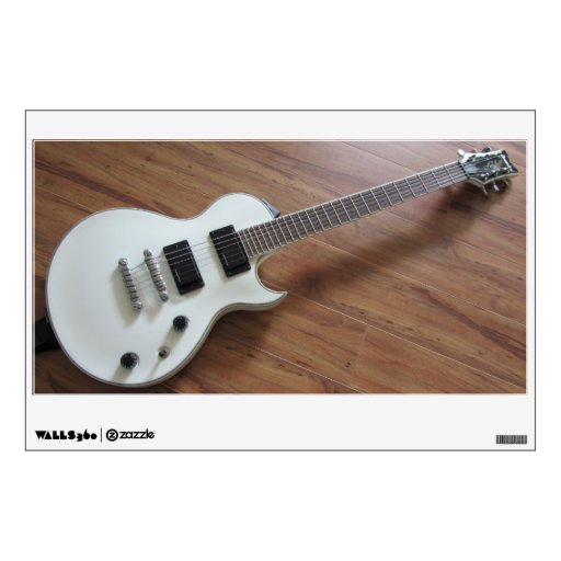 Wall decoration with guitar : Electric guitar wall decor zazzle