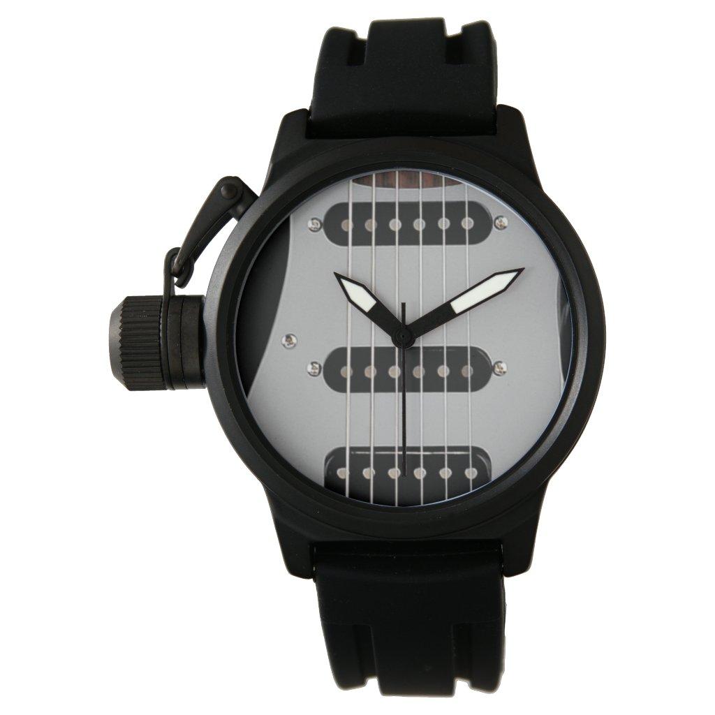 electric guitar watch