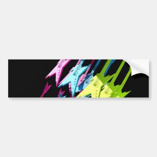 electric-guitars-698595. ELECTRIC GUITARS COLORFUL Bumper Sticker