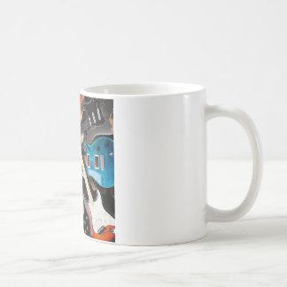 Electric Guitars Concept Coffee Mug
