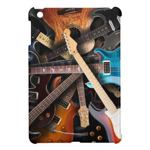 Electric Guitars Concept Cover For The iPad Mini