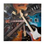 Electric Guitars Concept Tile