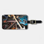 Electric Guitars Concept Travel Bag Tag