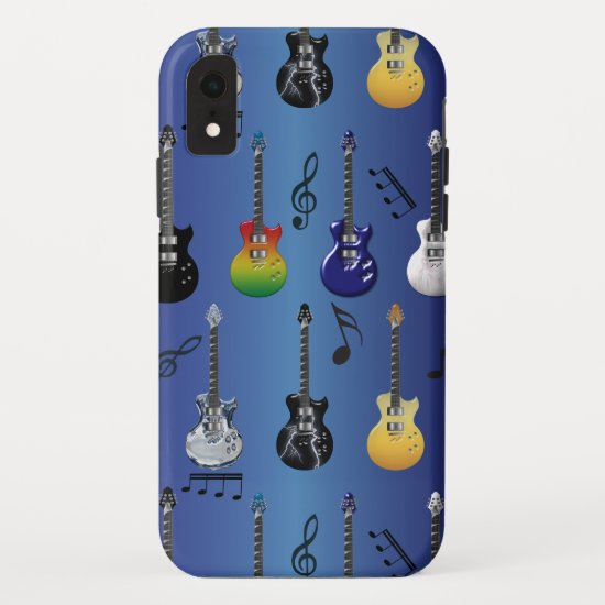 Electric Guitars iPhone XR Case