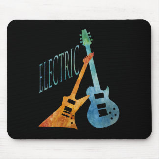 Electric Guitars Mouse Pad